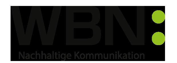 WBN: Nachhaltige Kommunikation Retina Logo