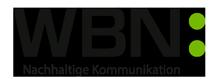 WBN: Nachhaltige Kommunikation Logo